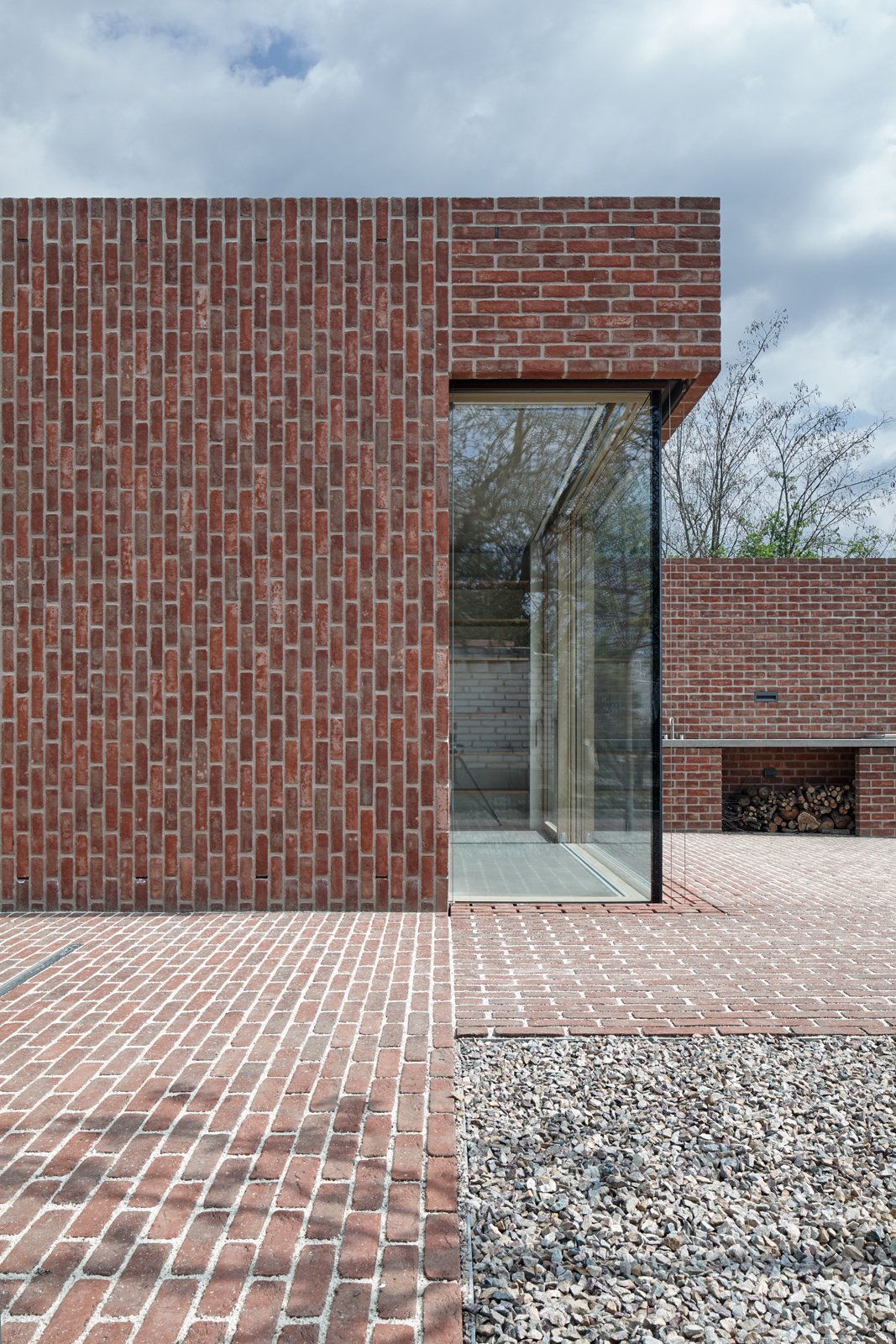 Exterior and Brick Siding Material  Brick House by BoysPlayNice Photography & Concept