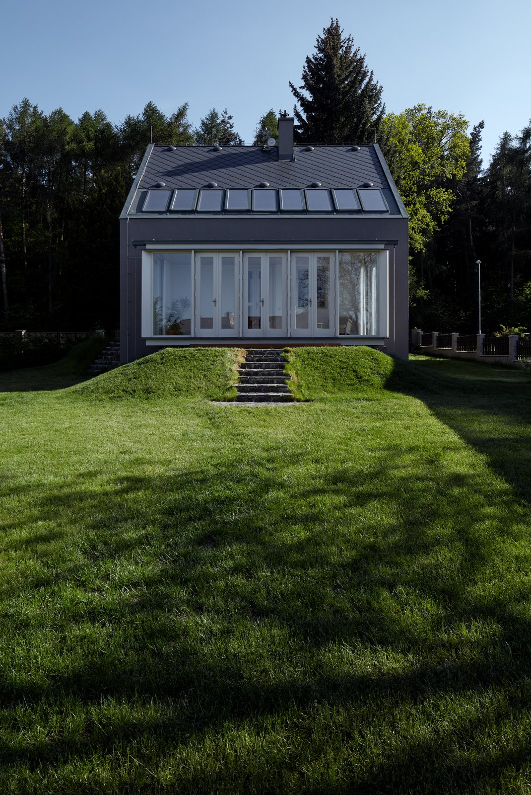 Outdoor, Back Yard, Grass, and Trees  House by the Forrest by BoysPlayNice Photography & Concept