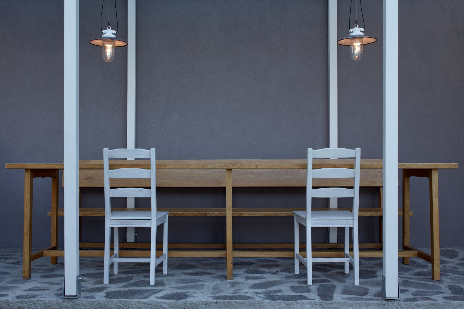 Tagged: Dining Room, Chair, Table, and Pendant Lighting.  House by the Forrest by BoysPlayNice Photography & Concept