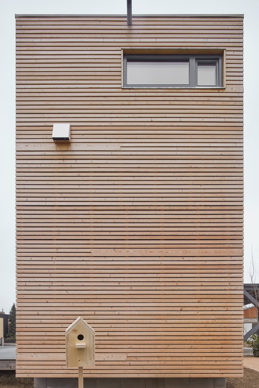 Exterior, Wood Siding Material, House Building Type, Glass Siding Material, and Flat RoofLine  Freedomek No.061 by BoysPlayNice Photography & Concept