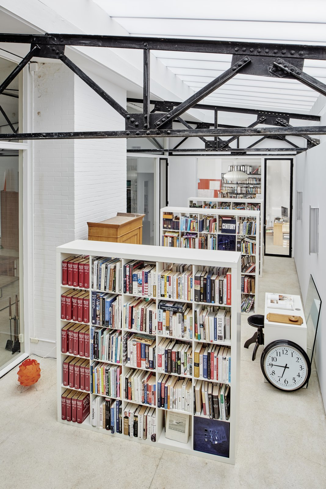 Office and Bookcase  Rudolph House