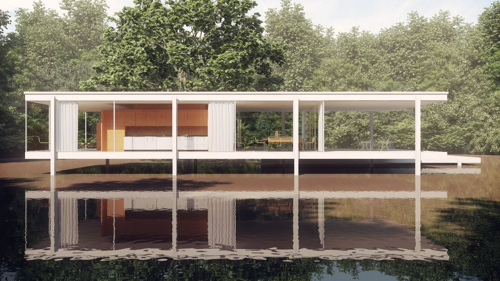 Timeless Iconic Design from Farnsworth House