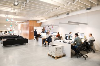 A Creative Agency with a Modern, Open Workspace