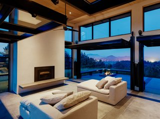 The client loves to entertain, and Feldman Architecture delivered with plenty of communal areas both inside and out.