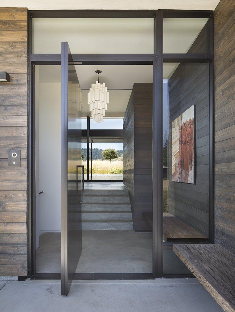 Doors, Swing Door Type, Metal, and Exterior  The Meadow Home by Feldman Architecture