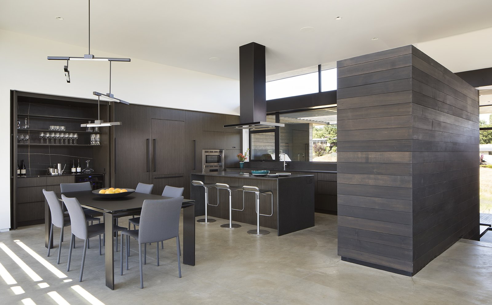 Kitchen  The Meadow Home by Feldman Architecture