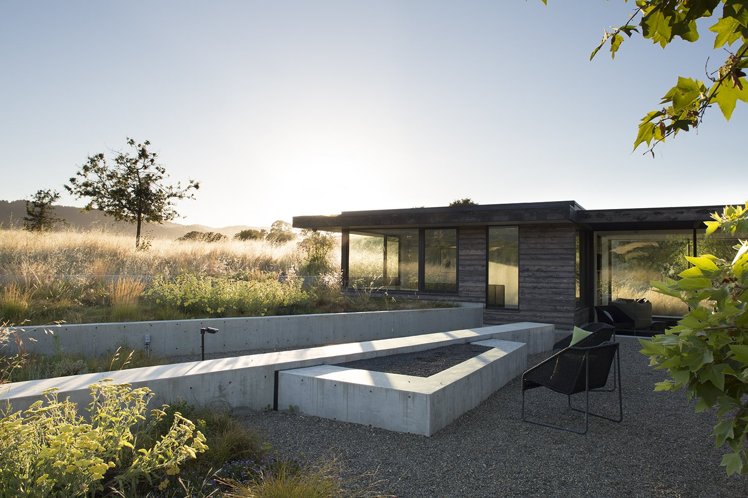 Exterior  The Meadow Home by Feldman Architecture