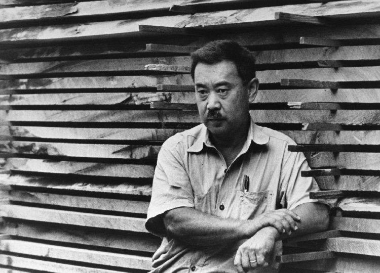 George Nakashima.  Photo: Nakashima Archives