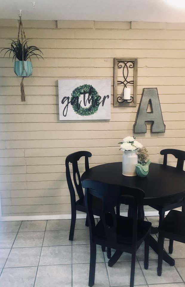 Dining Room, Table, and Ceramic Tile Floor  Nakomis Dwellings