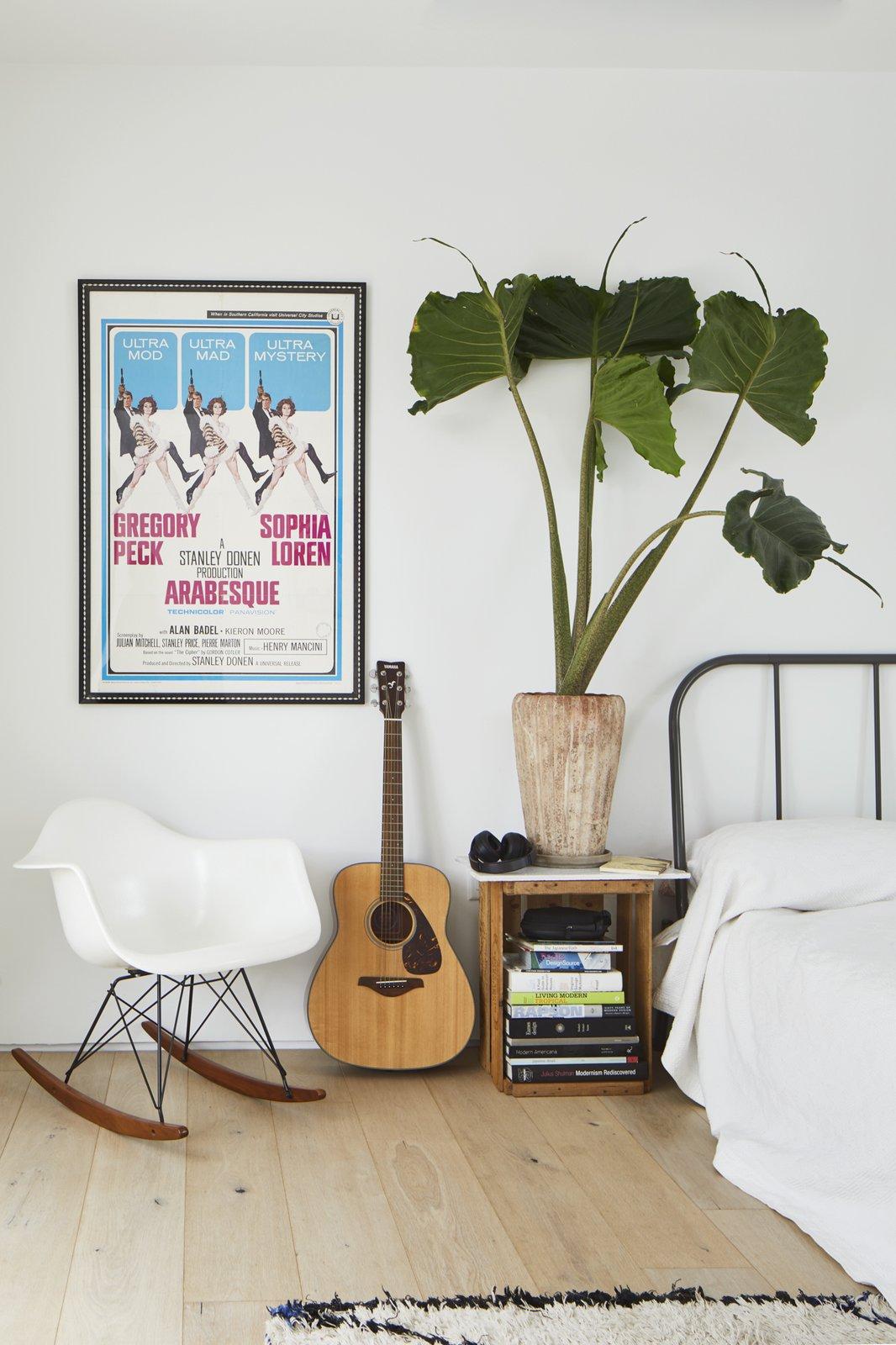 Bedroom, Bed, Chair, Night Stands, and Light Hardwood Floor  Casa Marrakech