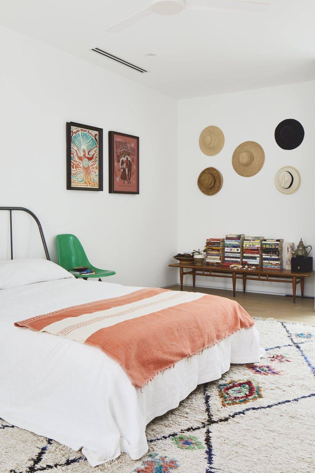 Bedroom, Chair, Night Stands, Bed, and Light Hardwood Floor  Casa Marrakech