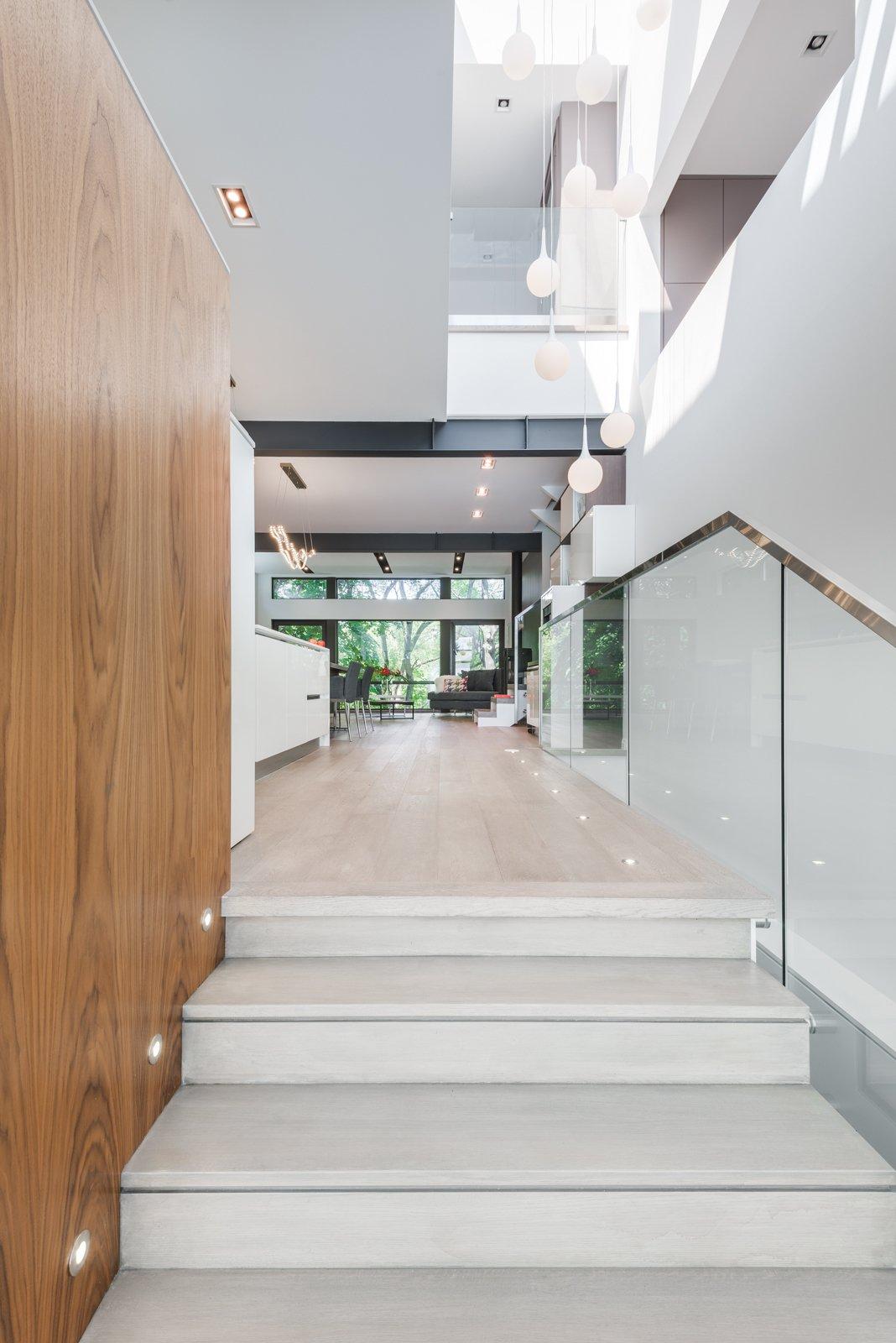 Hallway  FA2 House by Revelateur Studio
