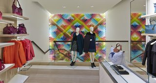 Mural Artist Sets the Scene at Longchamp's Flagship Store in London