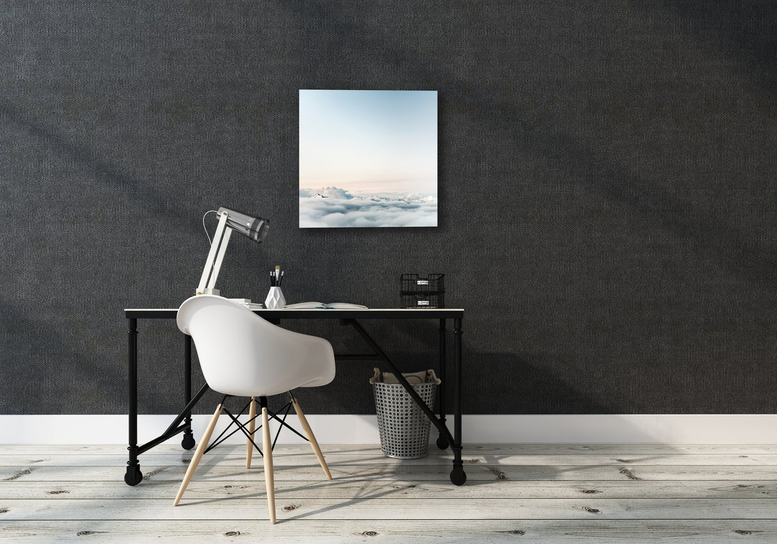 """The canvas comes in four sizes: 24"""" x 24"""", 24"""" x 36"""", 36"""" x 36"""", and 36"""" x 48"""". Soundwall also honors custom orders in size and material and allows you to upload your own images.  Photo 5 of 5 in Upgrade Your Wall With This Connected Canvas"""