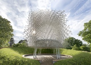 This Hive Makes Visitors a Part of the Swarm