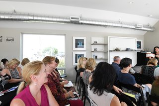 Monogram Modern Home at the Heart of Houston's Arts District - Photo 5 of 7 - The CEUs, which offered accreditation on topics ranging from cooking technology to universal design, drew an eager crowd.
