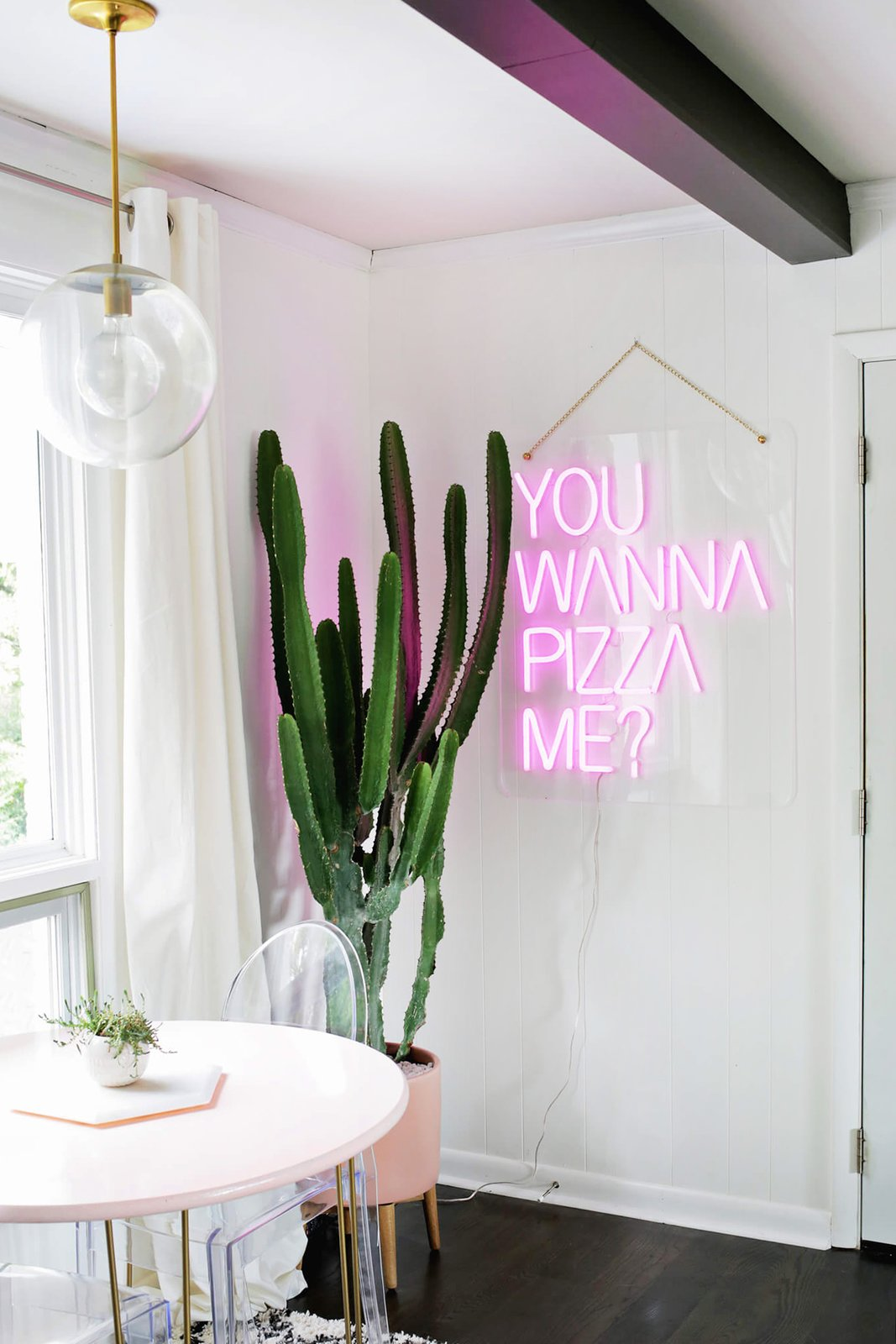 Pizza Me ($695) was created in collaboration with blogger Laura Gummerman of The Band Wife.  Photo 6 of 8 in Next-Generation Neon