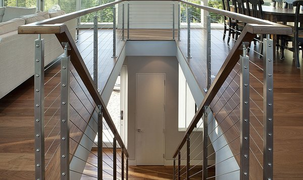 Merry Modern: AGS Stainless Custom-Made Prefabricated Railing System
