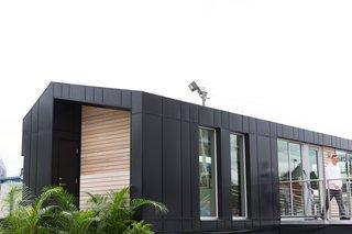 Monogram Modern Home Shows Some Southern Hospitality