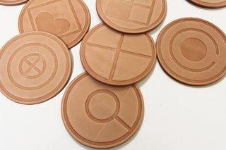 E.R. Butler for Commune Icon Coasters, $80