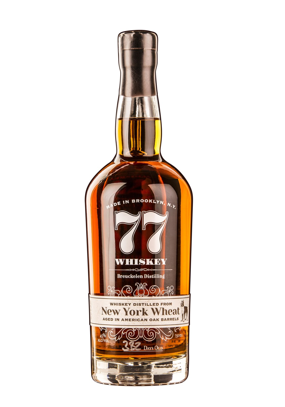 Breuckelen Distilling 77 Whiskey, $41.99  Photo 10 of 12 in Gift Guide: 11 Ways to Lift the Cocktail Lover's Spirits