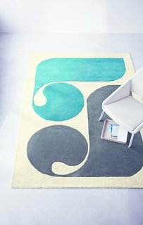 The Wait Is Over: Modern by Dwell Magazine Arrives at Target - Photo 2 of 9 - A Hand-Tufted Wool Rug ($299.99) adds a graphic accent to the room.