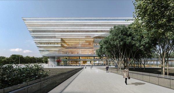 Schmidt Hammer Lassen Architects' Winning Design For the Shanghai Library