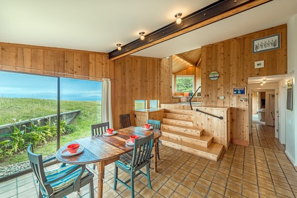 "Barring the bathrooms, every room in the house looks out at the ocean. ""Even though the house was designed and built before there were any neighbors in view, Moore anticipated them by having no windows to the east apart from a skylight, thus insuring privacy,"" says co-owner Alison Owings."