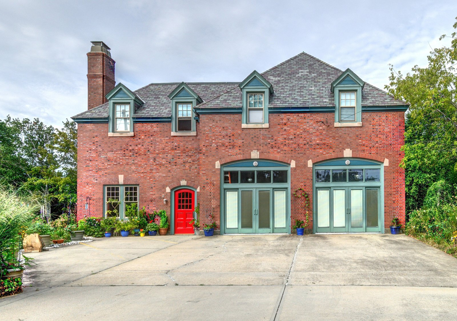 Photo 1 of 9 in A Converted Firehouse Fit For an Artist Is Listed at $749K