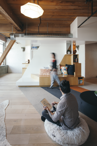Photo 5 of 10 in Step Inside One Couple's Game-Changing Live/Work Loft