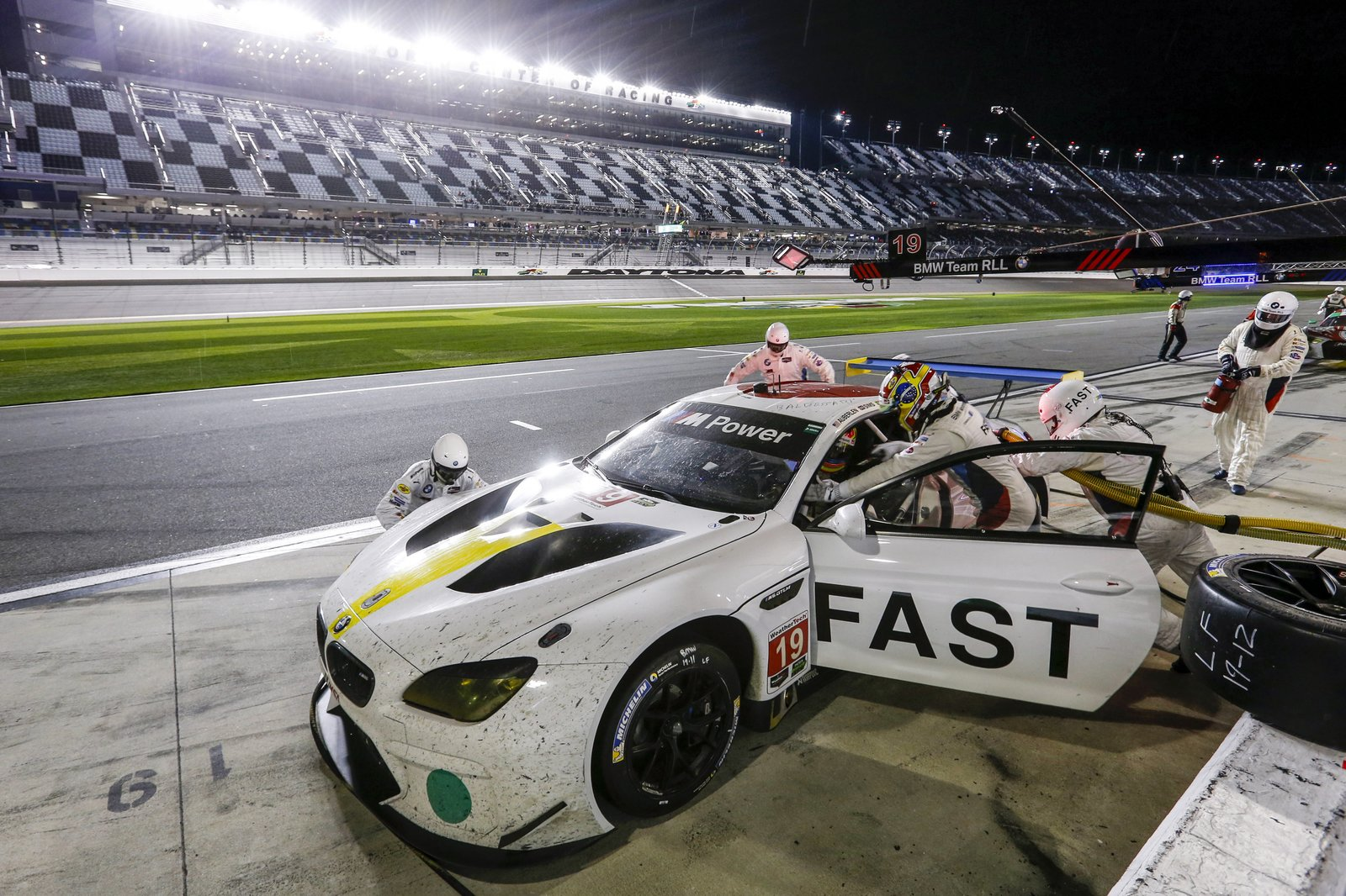 Photo 11 of 12 in John Baldessari Blazes a Trail at the Daytona International Speedway With BMW Art Car #19