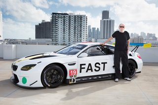 """For the BMW Art Car project, I entered uncharted territory, not just in terms of the subject, but also moving from two- to three-dimensional art. A challenge I did enjoy!"" says Baldessari."
