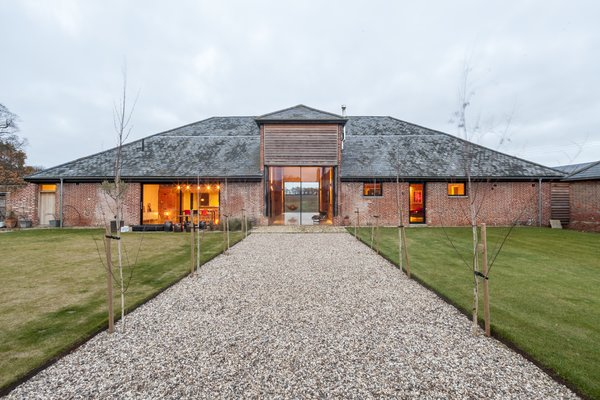 This Converted Barn in the English Countryside Stays True to its Historic Roots