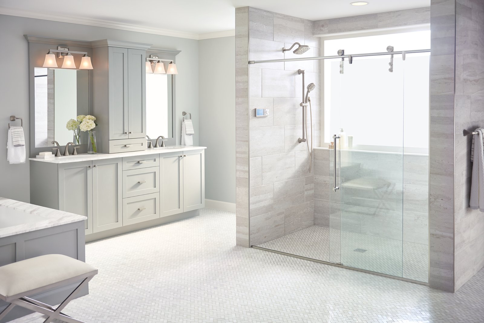 Photo 5 of 5 in Create Your Personal Oasis With U by Moen Shower