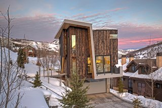 A Plunging Roof Carves Out Space in This Park City Home Offered at $2.4M