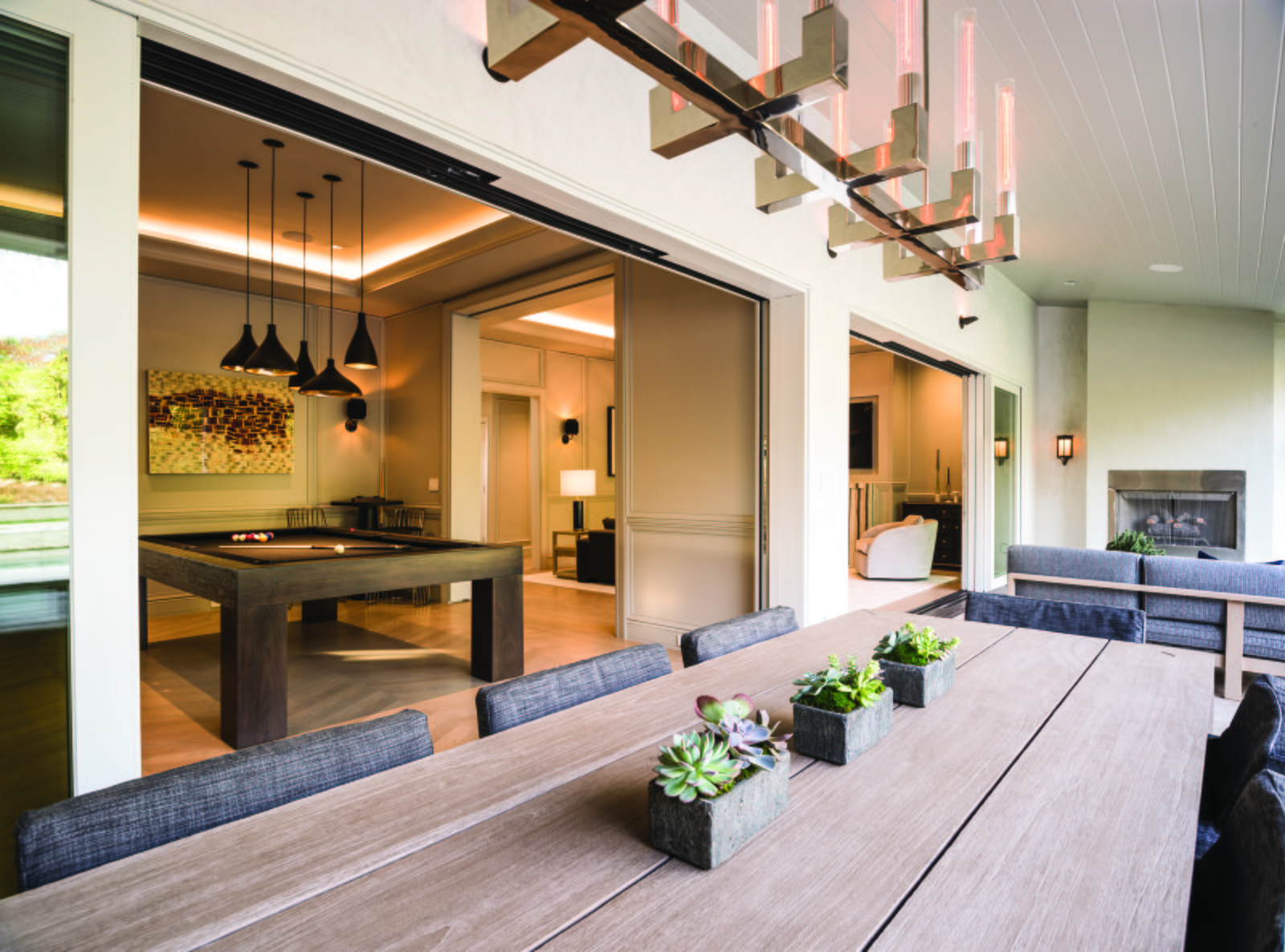 Photo 1 of 4 in A Los Angeles Renovation Opens Up to Coastal Climes
