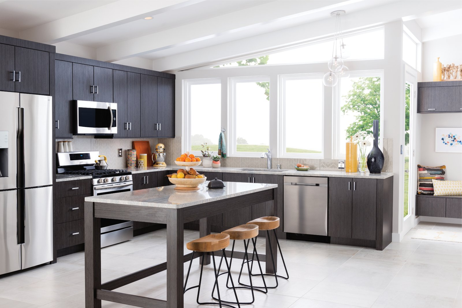 Photo 8 of 8 in How to Add a Modern Twist to Any Kitchen Style