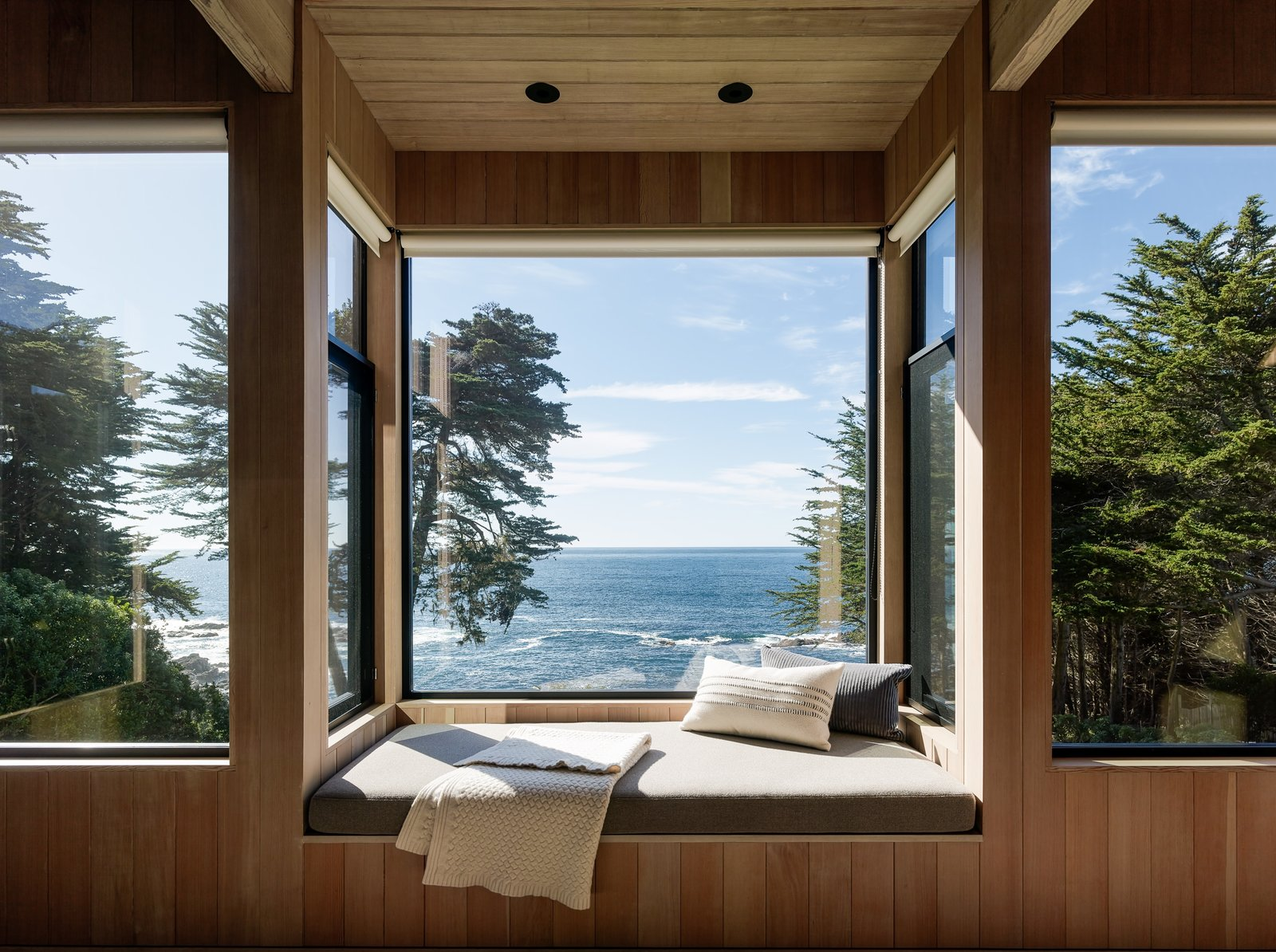 Windows and Wood  Best Photos from This Renovated Sea Ranch Retreat Is an Absolute Must-See