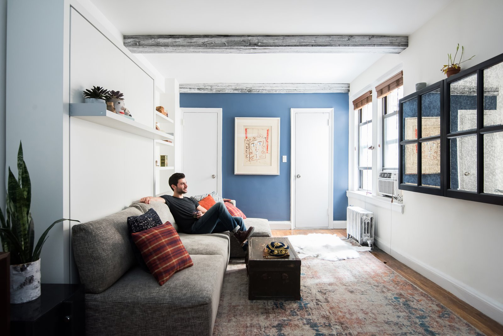 Photo 2 of 6 in Big on Broadway, Small on Space: Inside the Studio of Actor Adam Kantor