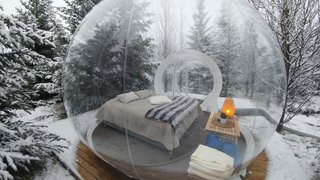 Sleep Under the Northern Lights in an Icelandic Bubble Hotel - Photo 3 of 5 -