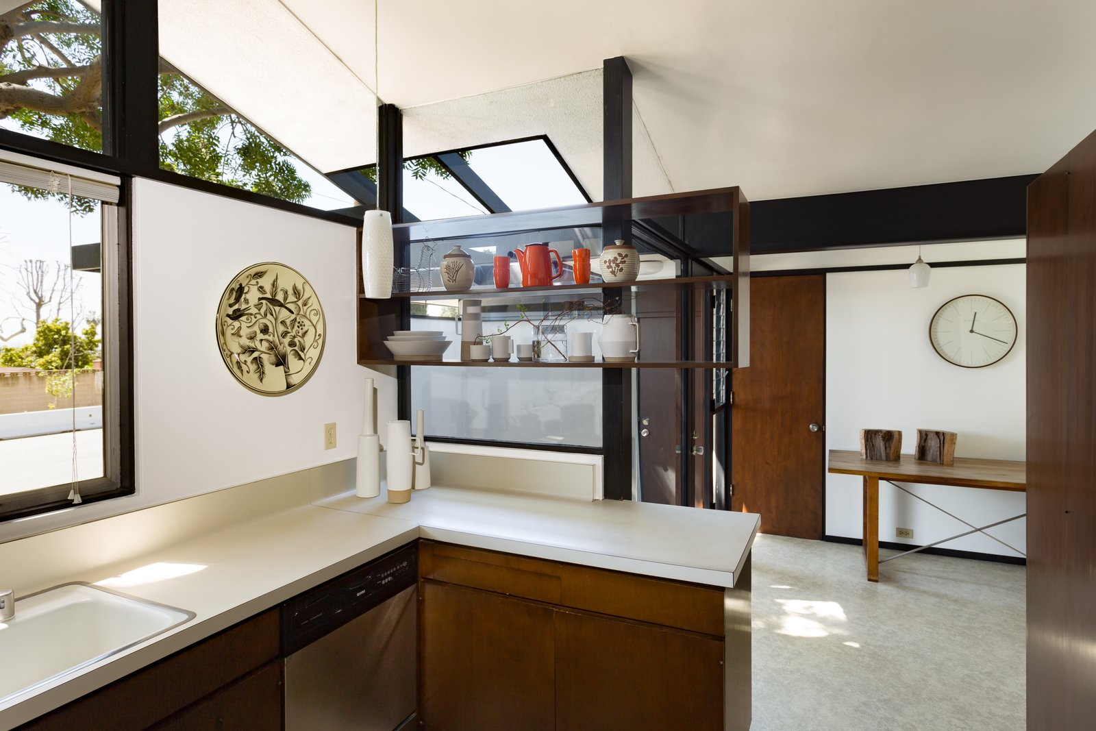 Kitchen  Photo 6 of 14 in Offered at $899K, a Restored Midcentury Abode Shines in Southern California