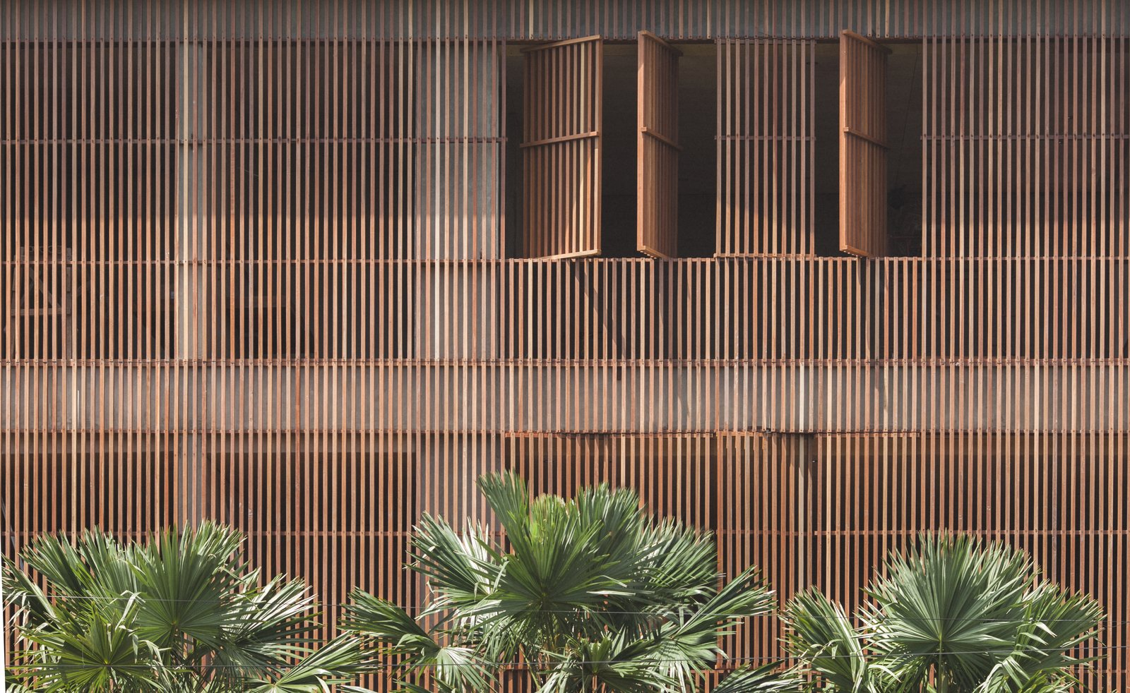 Exterior and Wood Siding Material  The Slow from Go Beyond the Basics in an Australian Fashion Designer's Surf-Inspired Bali Hotel