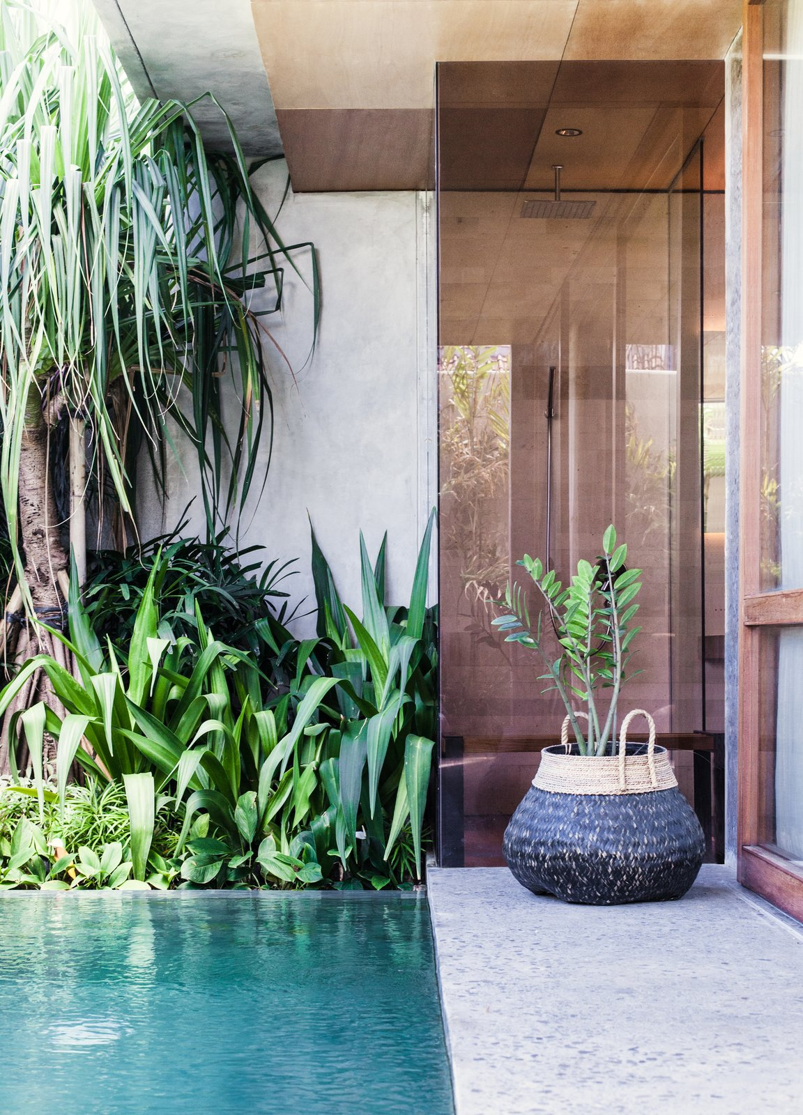 Outdoor and Small Patio, Porch, Deck  The Slow from Go Beyond the Basics in an Australian Fashion Designer's Surf-Inspired Bali Hotel