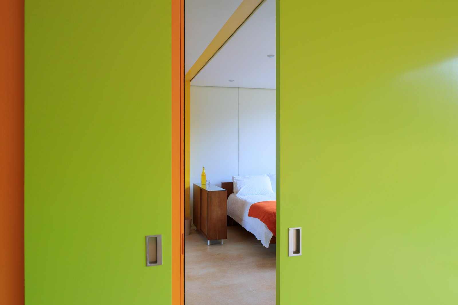 Bedroom  Photo 8 of 14 in Fully Renovated, Wimbledon House by Richard Rogers Hosts New Architecture Fellows in London