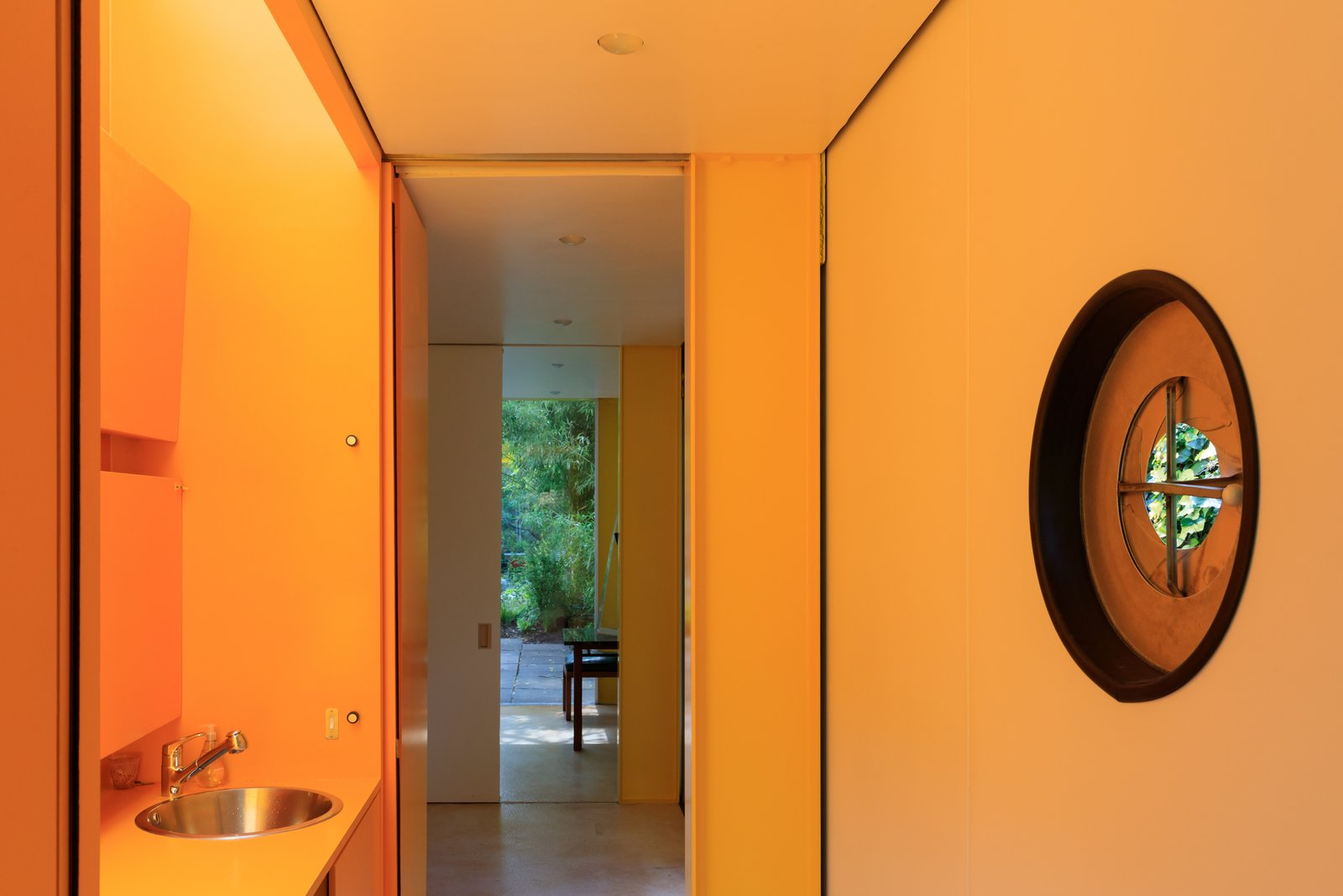Tagged: Bath Room.  Photo 9 of 14 in Fully Renovated, Wimbledon House by Richard Rogers Hosts New Architecture Fellows in London
