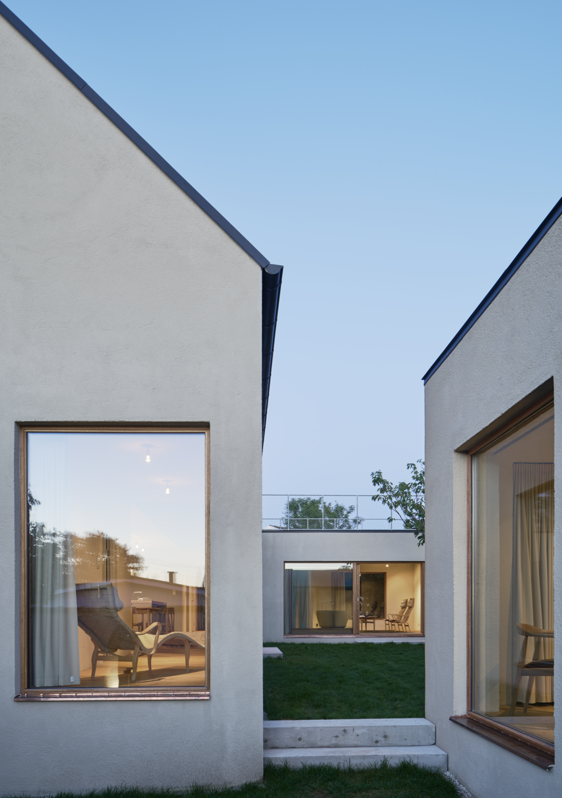 Windows, Casement Window Type, and Metal  Photo 12 of 12 in Sleek Scandinavian Design Permeates a Family's Summer House in an Old Fishing Village