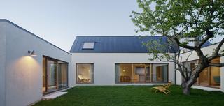 Sleek Scandinavian Design Permeates a Family's Summer House in an Old Fishing Village