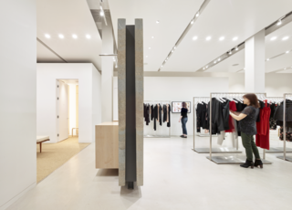 Bohlin Cywinski Jackson Designs a Tech-Forward Retail Experience For Reformation - Photo 3 of 6 -
