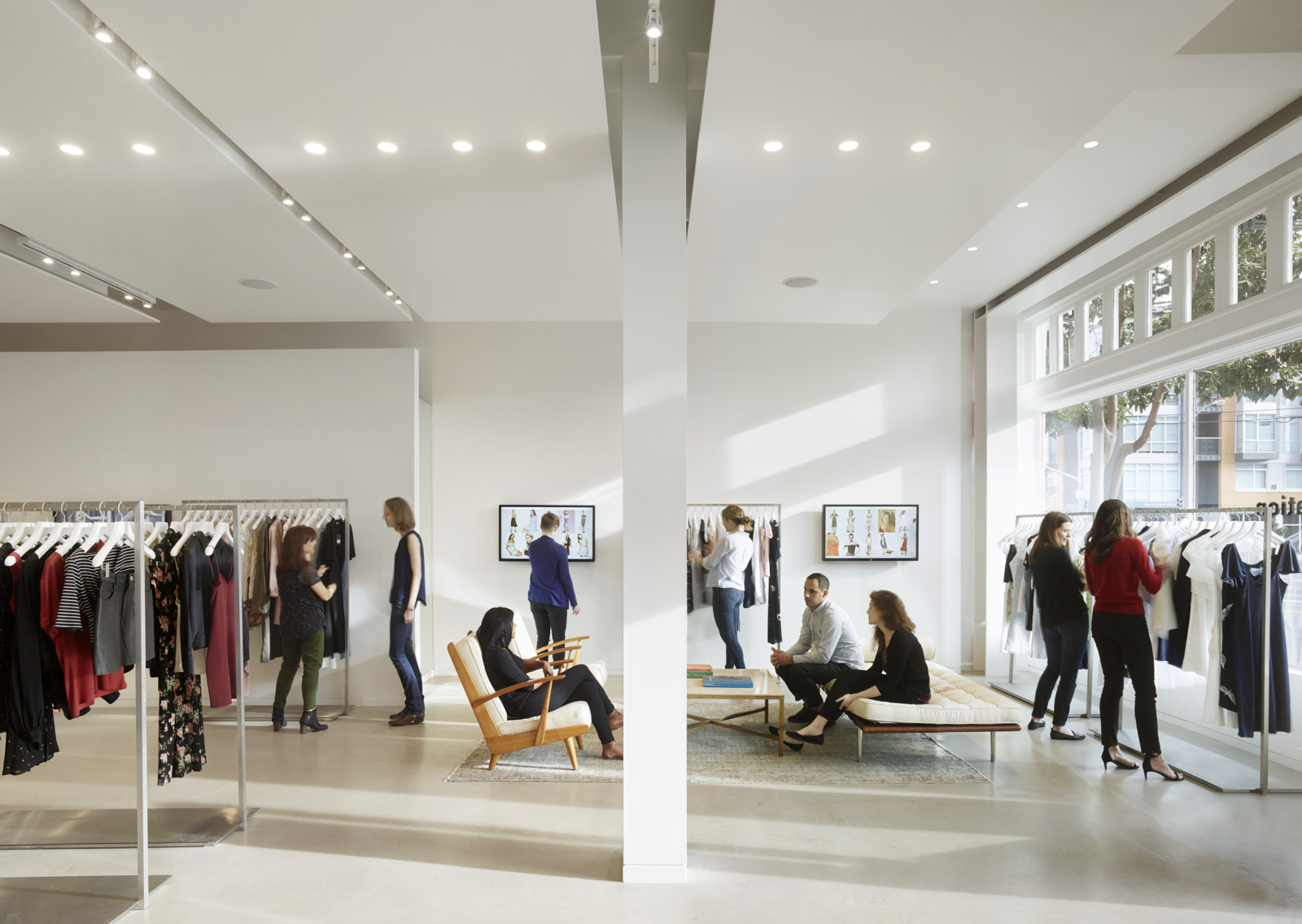 Photo 2 of 7 in Bohlin Cywinski Jackson Designs a Tech-Forward Retail Experience For Reformation