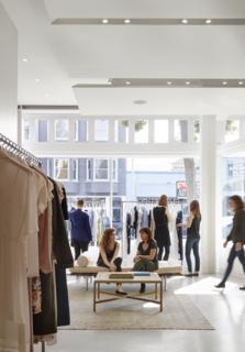 Bohlin Cywinski Jackson Designs a Tech-Forward Retail Experience For Reformation - Photo 2 of 6 -